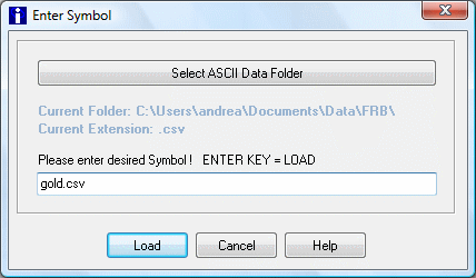 load data from disk